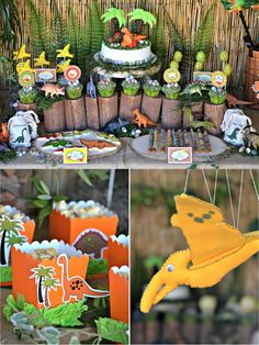 Party Printables | Party Ideas | Party Planning | Party Crafts | Party Recipes | BLOG Bird's Party: An AMAZING Dinosaur Adventure Birthday P...