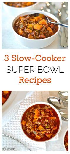 3 Slow-Cooker Super Bowl Recipes | eMeals