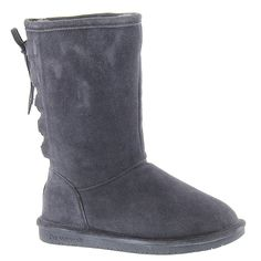 Bearpaw Women's Phyllis Suede, Sheepskin Snow Boots * Check this awesome product by going to the link at the image.