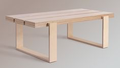 Birch Ply Coffee Table on Behance