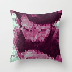 Abstracted Man II Throw Pillow