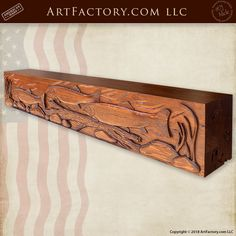 A Truly Breathtaking, One-Of-A-Kind, Fine Art Quality Piece With Detailed High Relief Carvings, And 23 Process Hand Rubbed Finish We Can Create A Custom Fireplace Mantel For You Carved With Any Design That You Can Imagine Woodworking, Art Furniture, Primitive, Hand Carved, Fireplace Mantels, Fireplace Doors, Carving, Mantelpiece, Custom Design