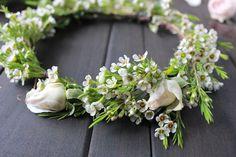 GRO Floral and Event Design | DIY Flower Crowns: Awaken Your Inner Flower Child #flowercrowns #diy