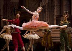 """ Svetlana Zakharova as Aurora in The Sleeping Beauty """