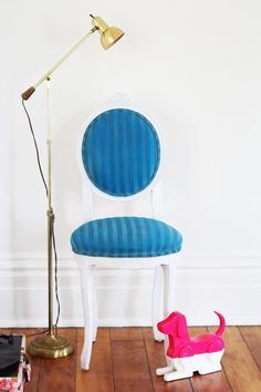 DIY Project Test Lab Results: We Tried 3 Fabric Paints On Upholstery and Here's What Happened | Apartment Therapy