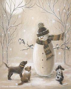 Нежные, добрые и очень милые иллюстрации Sarah Summers. Обсуждение на LiveInternet - Российский Сервис Онлайн-Дневников