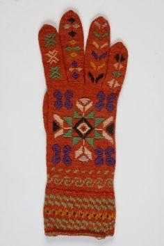 Eesti muuseumide veebivärav - kinnas; Estonian traditional knitted glove