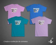 Camisetas dos professores, escola Padre Reus - Porto Alegre/RS