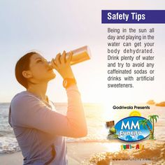 #SafetyTips Being in the sun all day and playing in the #water can get your body #dehydrated. Drink plenty of water and try to avoid any caffeinated sodas or drinks with artificial sweeteners.  #MMFunCity #WaterPark #StayHydrated