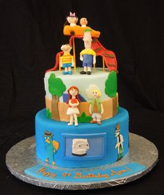 Cake Fiction: Phineas and Ferb Birthday Cake