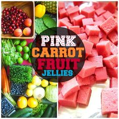 Undressed Skeleton — 15 Calorie Pink Carrot Fruit Jellies!