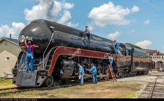 RailPictures.Net Photo: NW 611 Norfolk & Western Steam 4-8-4 at Spencer, North Carolina by Kevin Madore