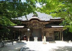 No.2 Gokuraku-ji temple - Shikoku 88 temple pilgrimage. Naruto city Tokushima prefecture in Japan.