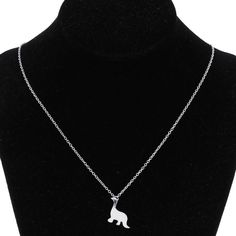 Gold Silver Small Cute Dinosaur Animals Women Necklace Jewelry