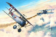 The 15th victory of Raoul Luftbery, Oct 1916
