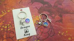 Dragon Accessory Husband Keyring Dragon King Dragon Scales