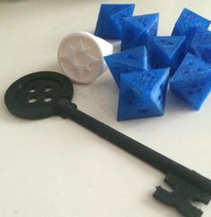 Something we liked from Instagram! All of my 3D printed cosplay accessory beauties #3dprint #3dprinter #cosplayaccessories #cosplayprops #buttonkey #vriskadice #greenlanternring #homestuckcosplay by my_chemical_quadrantz check us out: http://bit.ly/1KyLetq