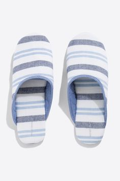 Women'secret - Striped cotton slippers
