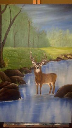 1000 images about murals on pinterest mallard duck for Duck pond mural