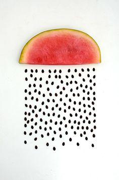 Watermelon. Not bikes, but still wonderful.