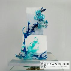 #earthdayplasticawareness - cake by Dawn Booth Sugarcraft Artist