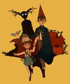 Over the Garden Wall Garden Wall Art, Over The Garden Wall, Cartoon Shows, Cartoon Characters, Manga Anime, Estilo Anime, Cartoon Kids, Aesthetic Art, Fairy Art