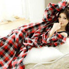 Printed Sleeved Blanket