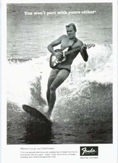"""Dick Dale, along with his Deltones, made the tune Misirlou famous in the 1963 movie """"A Swinging Affair"""" which you can tell from the video that's exactly what it was. Dick Dale has been called the King of Surf Music and the father of Heavy Metal. His insistence on playing very loud guitar music was not the norm in 1963. - madmikesamerica.com"""