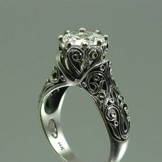 Vintage Engagement Ring. my dream ring