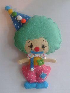 This little clown is so cute!