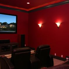Small Media Room Media Room Design Ideas, Pictures, Remodel and Decor