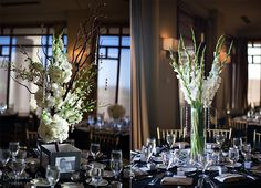 gladiolas - love the idea for some of the tables