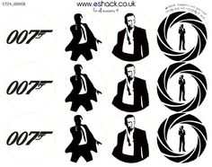James bond 007 clipart collection - Cliparts World 2019 Thème James Bond, James Bond Cake, Estilo James Bond, James Bond Party, James Bond Theme, Casino Theme Parties, Party Themes, Birthday Parties, Spy Party