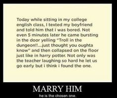 Harry potter funnies love this one!  Check out my Harry Potter board!