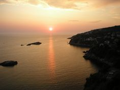 2009 Sunset from Ulcinj Tower