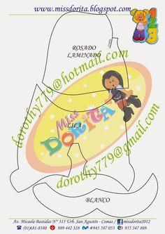 Miss Dorita: Molde Niña con Números Paper Piecing, Rapunzel, Cute Cartoon, Paper Cutting, Dragon Ball, Scrapbook, Templates, Disney, Creative