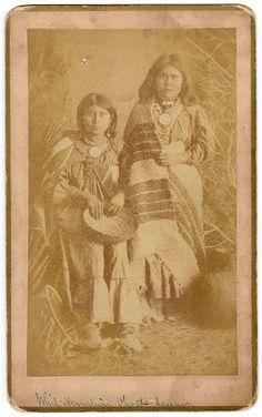 White Mountain Apache women - circa 1885