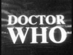 "▶ Doctor Who Theme Tune 1963-1969 by Ron Grainer and Delia Derbyshire ...Delia Derbyshire was an early pioneer of electronic music...never knew that. This is the original ""Dr. Who"" theme...way creepier than the new one"