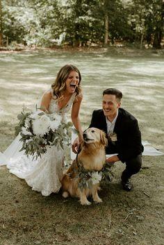 Backyard Bohemian chic wedding virginia DC wedding photographer Dog in wedding Dog Wedding, On Your Wedding Day, Perfect Wedding, Dream Wedding, Wedding Dreams, Wedding Stuff, Bohemian Chic Weddings, Boho, Outdoor Wedding Photography
