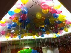 Tremendous Interior Designs: Helium Balloon Decoration Ideas