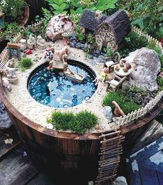 Cool 50 Beautiful DIY Fairy Garden Design Ideas https://roomadness.com/2017/10/27/50-beautiful-diy-fairy-garden-design-ideas/ #GardenLandscapingHouse