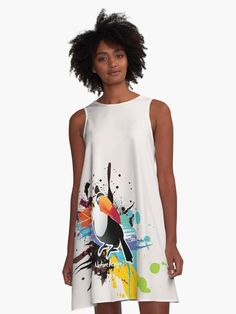 Beautiful summer dress. Super great fit for all body types. (  #dress, #dresses, #dresspatterns, #dresslovers, #Alinedress, #summerdress  )