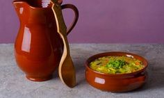 LA SOUPE AU PISTOU by Clarissa Dickson Wright from her book Honey from Weed for the classic book series for OFM