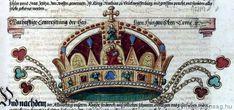 A Szent Korona legkorábbi hiteles ábrázolása
