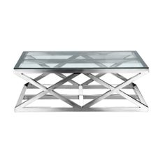 Dare gallery Colada Coffee Table 3 Glass Coffee Tables for sale