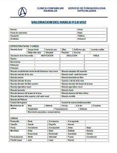 especialistass   Evaluación de la Disfagia, el Habla y la Voz.