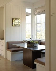 kitchen booths blinds for windows 110 best images units diner steal this look belgian inspired by ken linsteadt architects