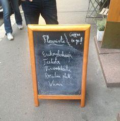 Kelpo esimerkki, perus siisti ja yksinkertainen. (Helsinki /Uudenmaankatu / Bar Tapasta?)