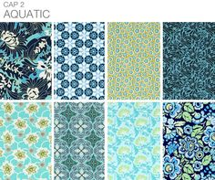 Aquatic by Amy Butler.