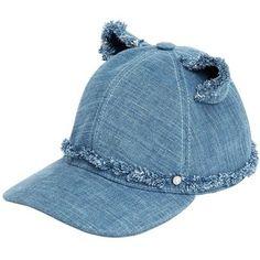 Karl Lagerfeld Women Choupette Denim Baseball Cap Sombreros 99f9fd3dec0